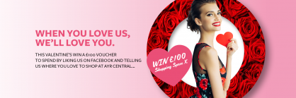 Win £100 Valentine Shopping Spree