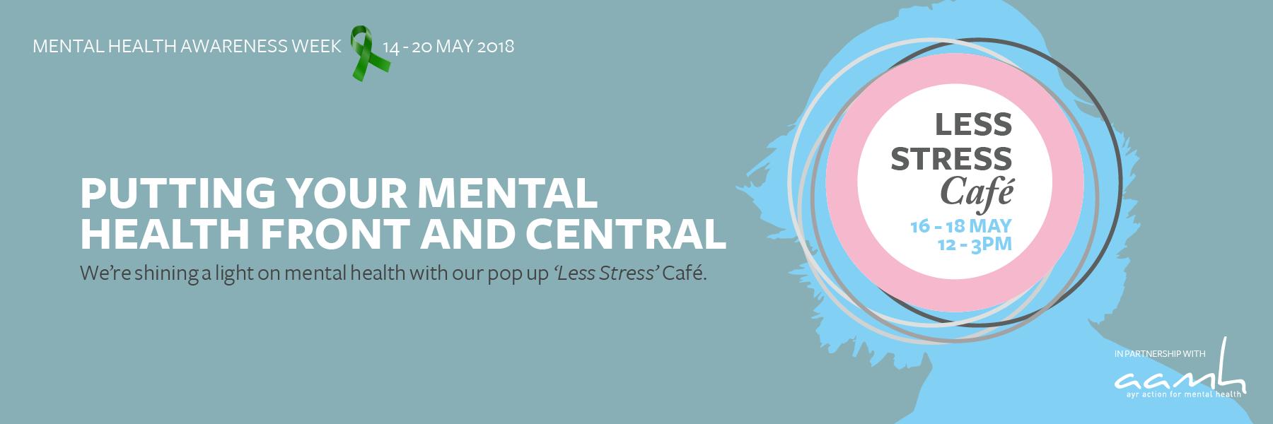 'Less Stress' Café