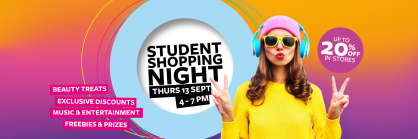 Student Shopping Night