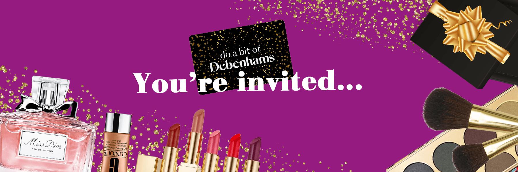 Debenhams Christmas Beauty Event